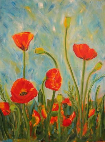 Betty Schriver- Playful Poppies