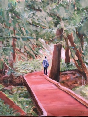 Cathedral Trail art