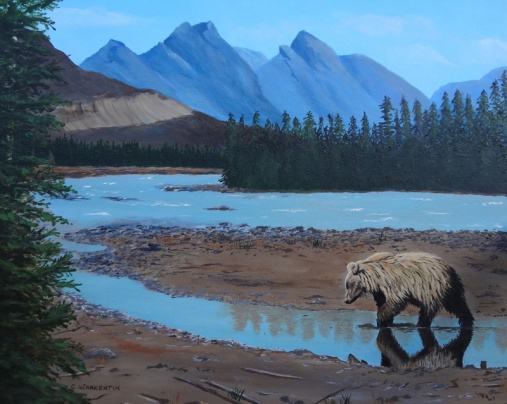 Athabasca River art