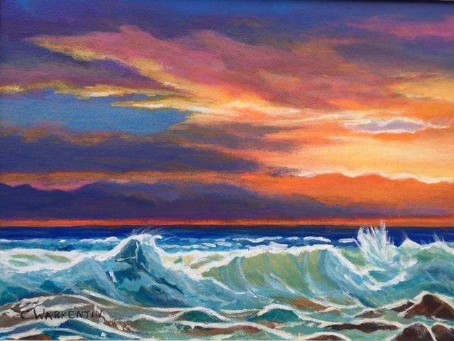 Sunset art