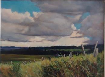 Landscape, cloud art