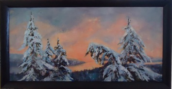 Winter, tree art