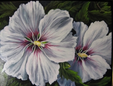 Passion Flower art