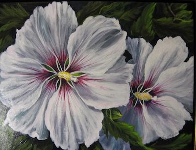 Passion Flower art