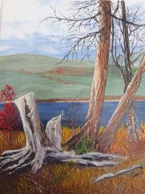 Lake art