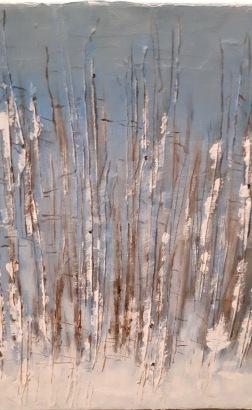"Claudia Nicholson - Memories "" Acrylic - Sold"