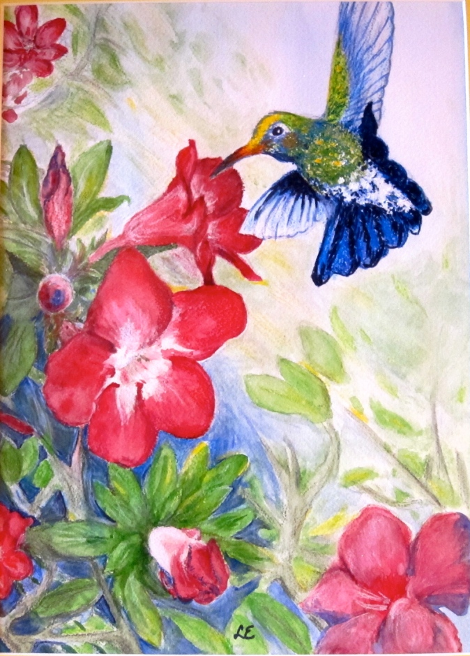 Floral and Bird Art