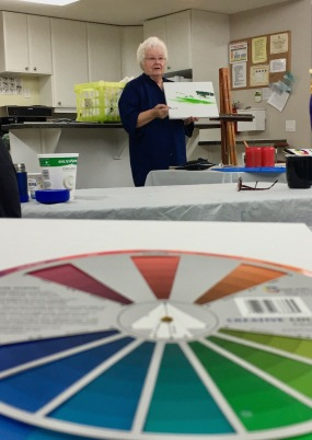 color mixing for painting