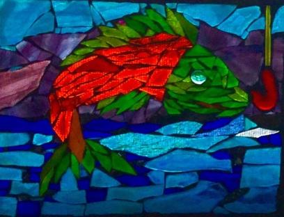 Salmon Art