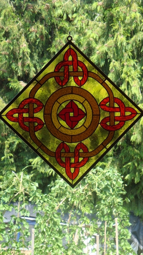 Stained Glass Celtic Design
