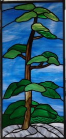 Stained Glass Tree art