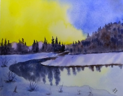 Jackie Wambolt watercolour 1