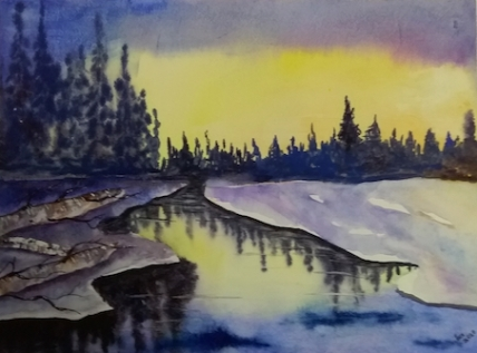 Jackie Wambolt watercolour 3